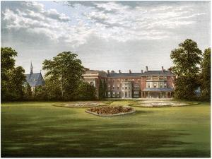 Rhydd Court, Worcestershire, Home of Baronet Lechmere, C1880 by AF Lydon