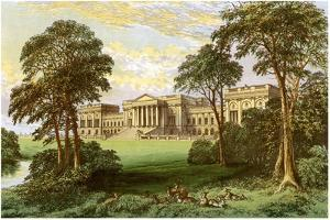 Stowe Park, Buckinghamshiere, Home of the Duke and Marquis of Buckingham and Chandos, C1880 by AF Lydon