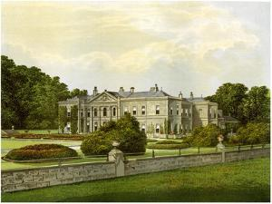 Studley Royal, Yorkshire, Home of the Marquess of Ripon, C1880 by AF Lydon