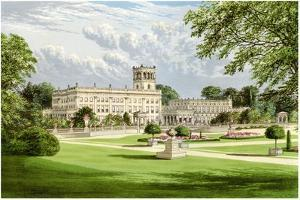 Trentham Hall, Staffordshire, Home of the Duke of Sutherland, C1880 by AF Lydon