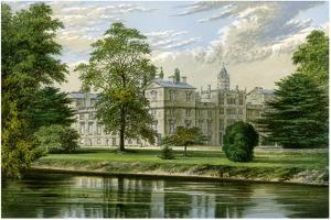 Wilton House, Wiltshire, Home of the Earl of Pembroke and Montgomery, C1880 by AF Lydon
