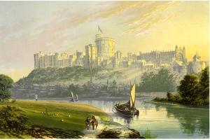 Windsor Castle, Berkshire, the Royal Residence, C1880 by AF Lydon