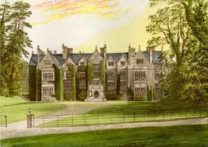 Wroxton Abbey, Oxfordshire, Home of the North Family, C1880 by AF Lydon