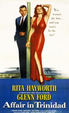 Affair in Trinidad, Glenn Ford, Rita Hayworth, 1952
