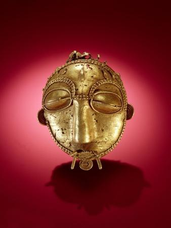 Asante Mask, from Ghana (Gold)