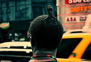Afro Pick Herald Square NYC