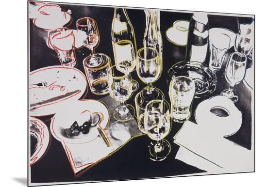 After the Party, 1979-Andy Warhol-Mounted Print