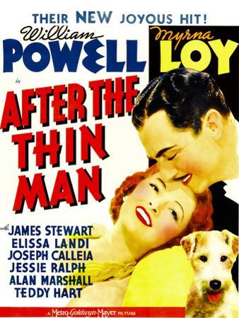 After the Thin Man, Myrna Loy, William Powell, Asta, 1936