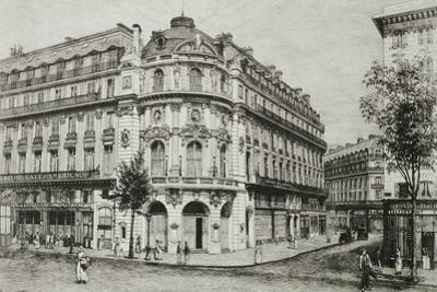 France, Paris, Vaudeville Theatre, 1868