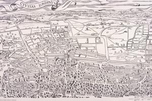Agas' Map of London, C1561