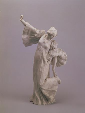 Dancer, from a Table Centrepiece, Sevres, 1900