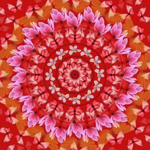 Red Mandala by AGCuesta