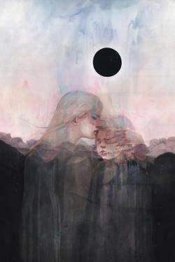Sunset Children by Agnes Cecile