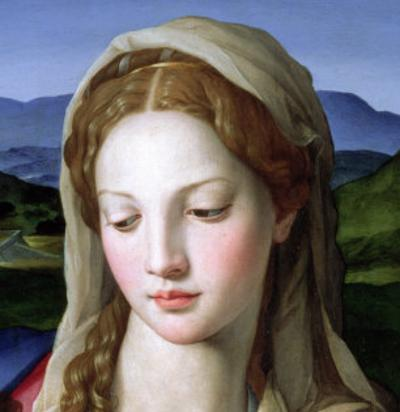Holy Family with St. Anne and the Infant St. John the Baptist, circa 1550 (Detail) by Agnolo Bronzino