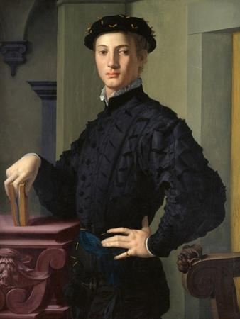 Portrait of a Young Man by Agnolo Bronzino