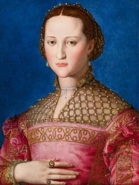 Portrait of Eleanor of Toledo, c.1543 by Agnolo Bronzino
