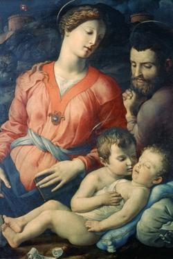 The Panciatichi Holy Family, 1530-1532 by Agnolo Bronzino