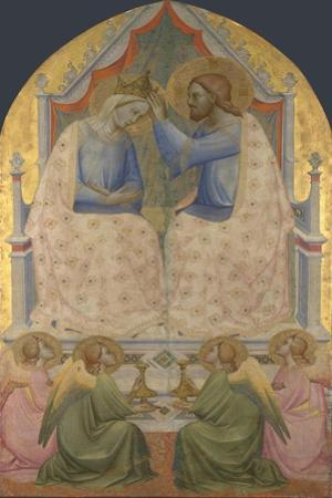 The Coronation of the Virgin, 1380S