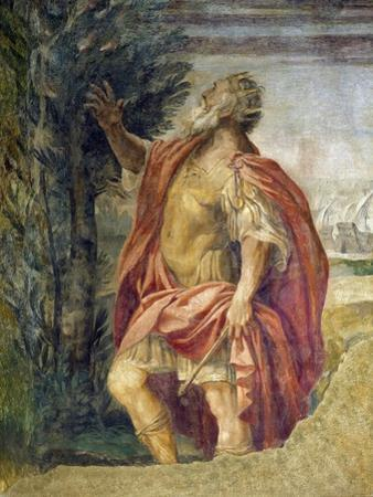 Mythological Subject by Agostino Carracci