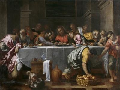 The Last Supper by Agostino Carracci