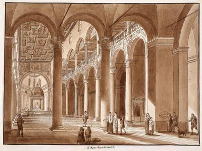 Basilica of Sant'Agnese Fuori Le Mura, 1833