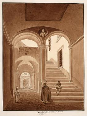 Interior of Michelangelo's House, 1833 by Agostino Tofanelli