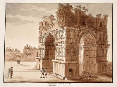 The Arch of Janus: Excavation of the Forum Boarium, 1833
