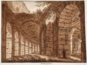 The Top Storey of the Colosseum, 1833 by Agostino Tofanelli