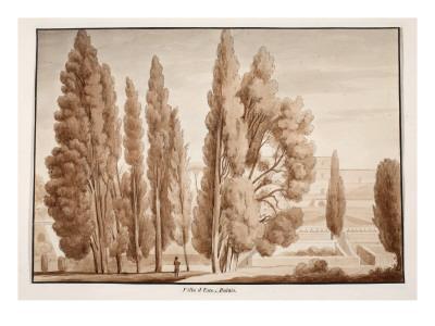 The Villa D'Este, 1833