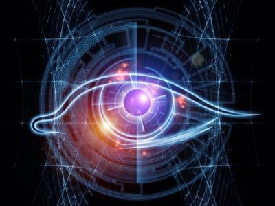 Fractal Vision Background by agsandrew