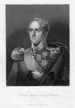Frederick Augustus I, King of Saxony, 19th Century by AH Payne