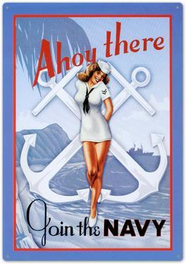 Ahoy There Join The Navy Sailor Sexy Girl