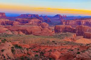 Sunrise at Hunts Mesa Panorama by aiisha