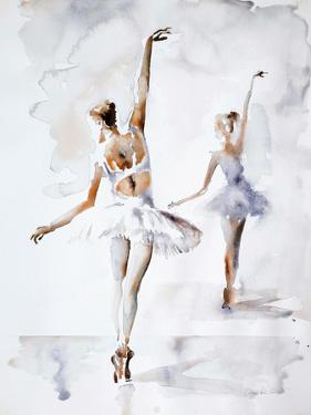 Ballerina In Blue by Aimee Del Valle