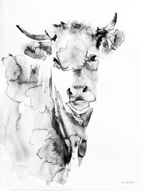 Village Cow Gray by Aimee Del Valle