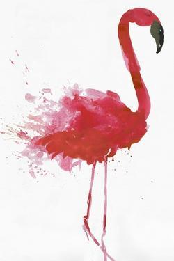 Flamingo Portrait II by Aimee Wilson