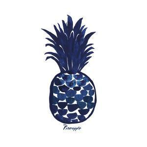 Indigo Pineapple by Aimee Wilson