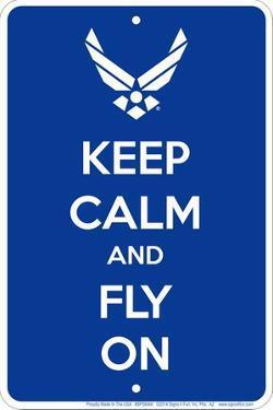 Air Force Keep Calm