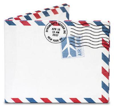 Air Mail Par Avion Tyvek Mighty Wallet