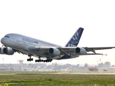 Airbus A380, the World's Largest Passenger Plane, Takes Off Successfully on its Maiden Flight