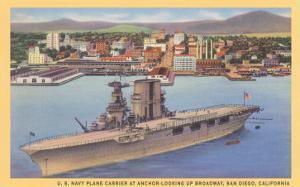 Aircraft Carrier, San Diego Bay
