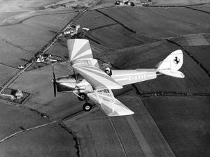 Aircraft Dehavilland Tiger Moth Bi Plane Designed in the 1920s