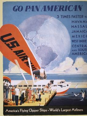 Airline Poster, 1933
