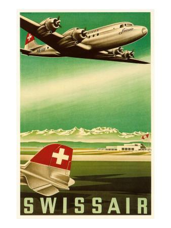 """Pan American Air Lines 8.5/"""" X 11/""""  Travel Poster Paris"""