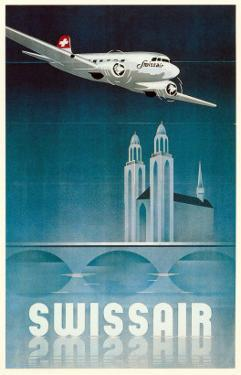 Airline Travel Poster