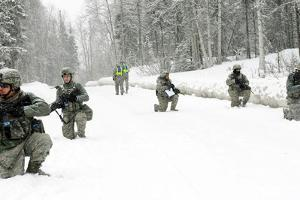 Airmen Perform Tactical Maneuvers in Alaska