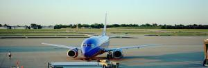 Airplane at the Airport, Midway Airport, Chicago, Illinois, USA
