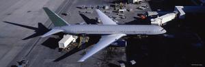 Airplane, Denver International Airport, Denver, Colorado, USA