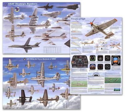 Airplanes Poster Set
