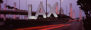 Airport at Dusk, Los Angeles International Airport, Los Angeles, California, USA